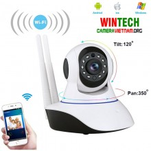 Camera ip wifi WinTech IP QC10 độ phân giải 2.0MP